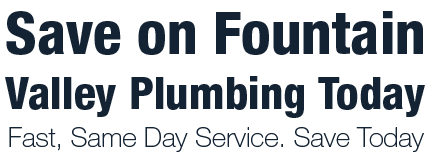 Plumber Fountain Valley
